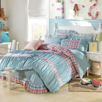厂家直销韩式公主时尚纯棉四件套床上用品批发