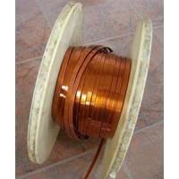 海宁市TU1变压器扁铜线 0.6*0.15mm变压器扁铜线