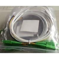 皮线光纤跳线 SC-APC皮线双芯光纤跳线生产厂家