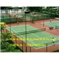 体育场隔离栅网球场勾花隔离网