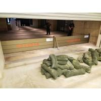 地下停车场防汛挡水板 地铁口防汛挡水板 停车场铝合金防汛板