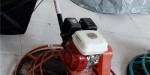 湖北鄂州手扶式混凝土路面磨光机 本田汽油水泥地收抹光机