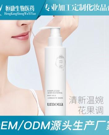 烟酰胺身体乳晒后补水保湿润肤乳 乳液灌装化妆品生产工厂 (4)